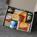 Корпоративный подарок 9 мая набор к чаю