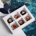 Подарок Набор шоколадных конфет ручной работы 6 шт, женский