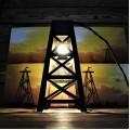 Корпоративный подарок Лампа - нефтяная вышка