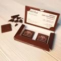Корпоративный подарок Визитка с шоколадом