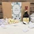 Корпоративный подарок Клубника и вино