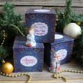 Корпоративный подарок Дед мороз и снегурочка