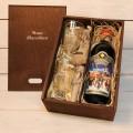 Корпоративный подарок Глинтвейн в деревянной коробке