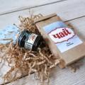 Корпоративный подарок Чай и маленькая баночка варенья