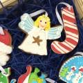 Корпоративный подарок Печенье в деревянной коробке