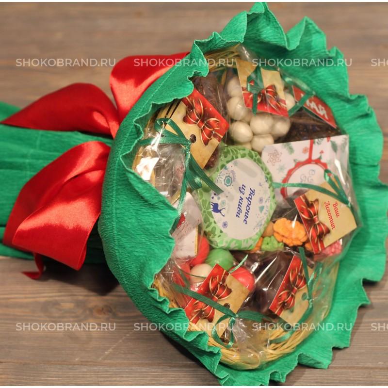 Корпоративный подарок Букет со сладостями