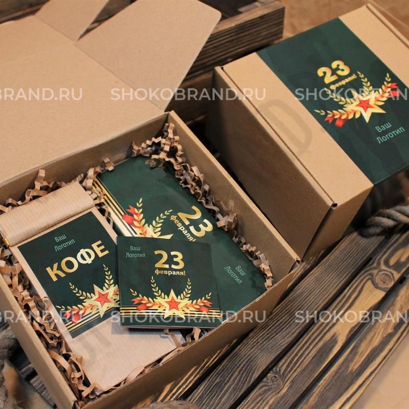 Корпоративный подарок Кофе и шоколадка