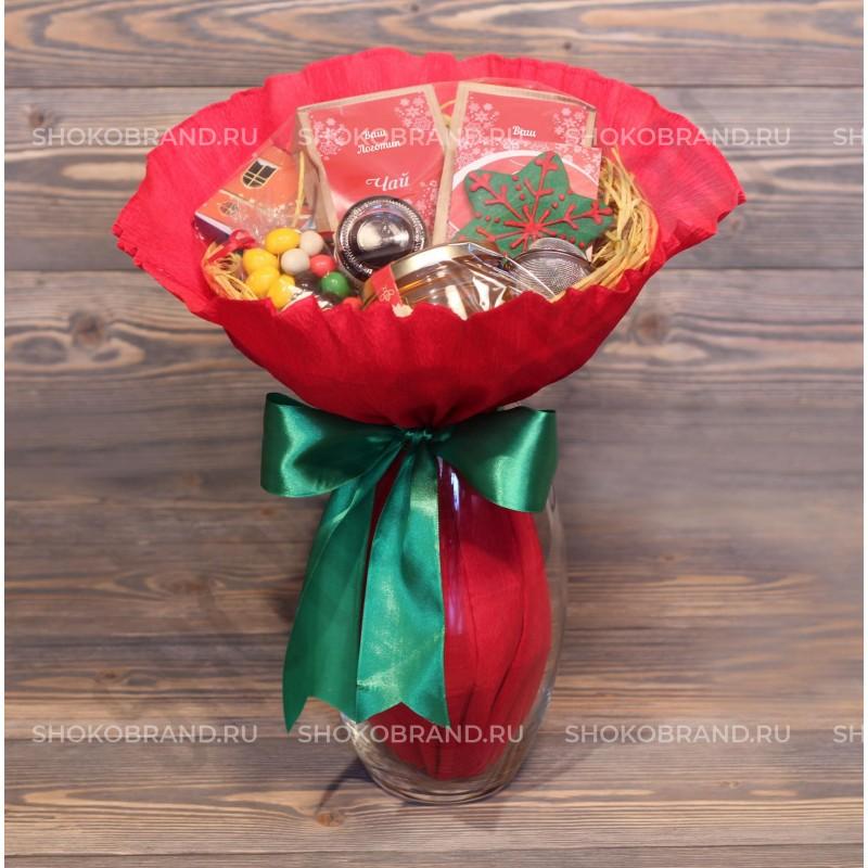 Корпоративный подарок Чайно-кофейный букет