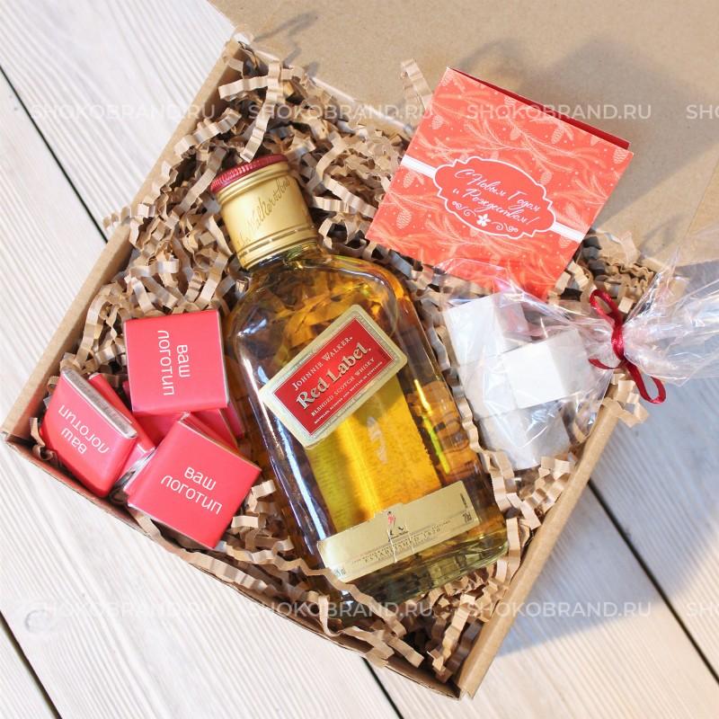 Корпоративный подарок Подарок с виски