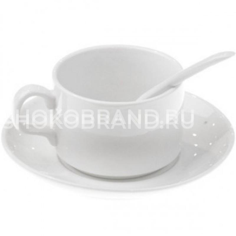 Корпоративный подарок Кофейная пара с ложкой