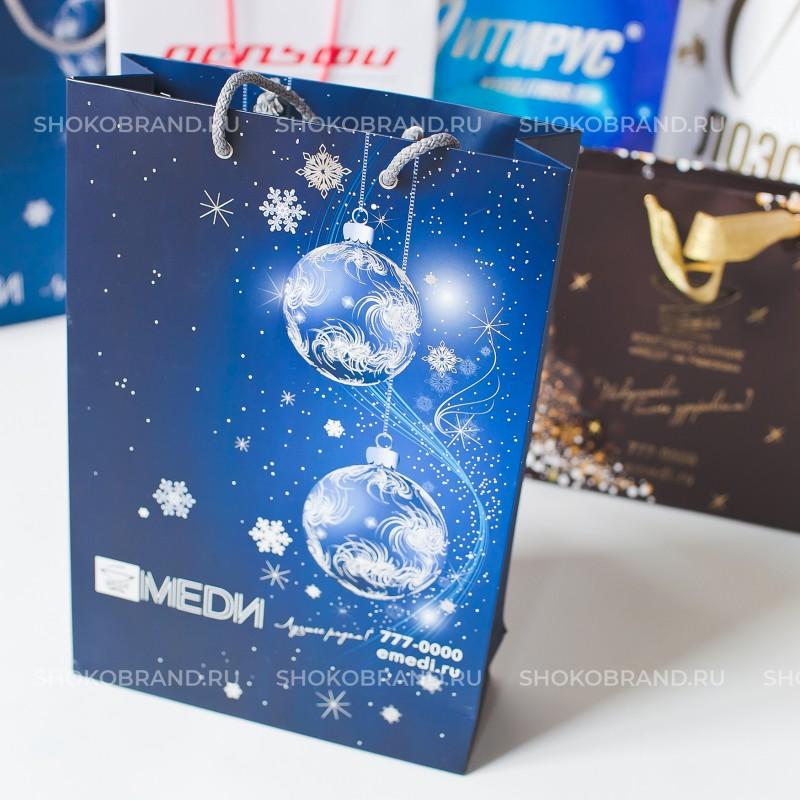 Корпоративный подарок Бумажный пакет 300*400*120 мм.