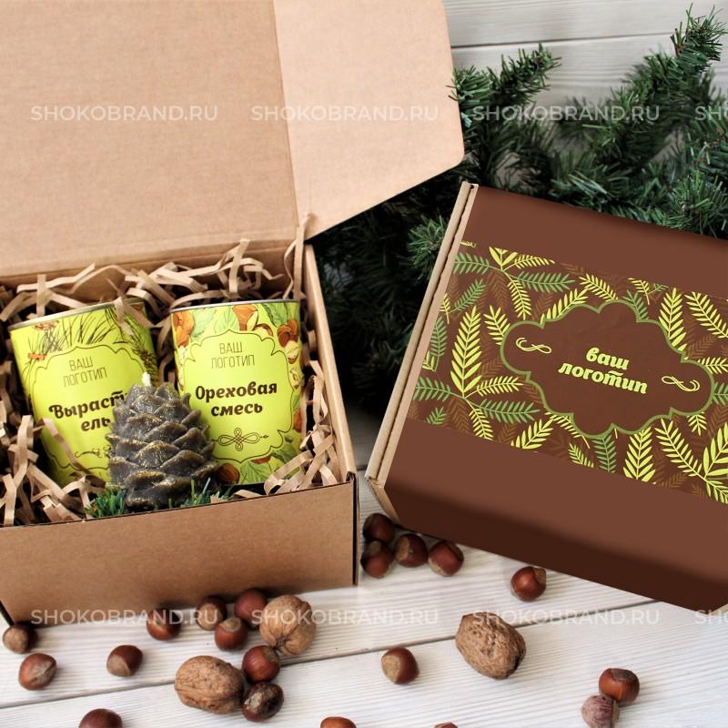 Корпоративный подарок Елово-ореховый