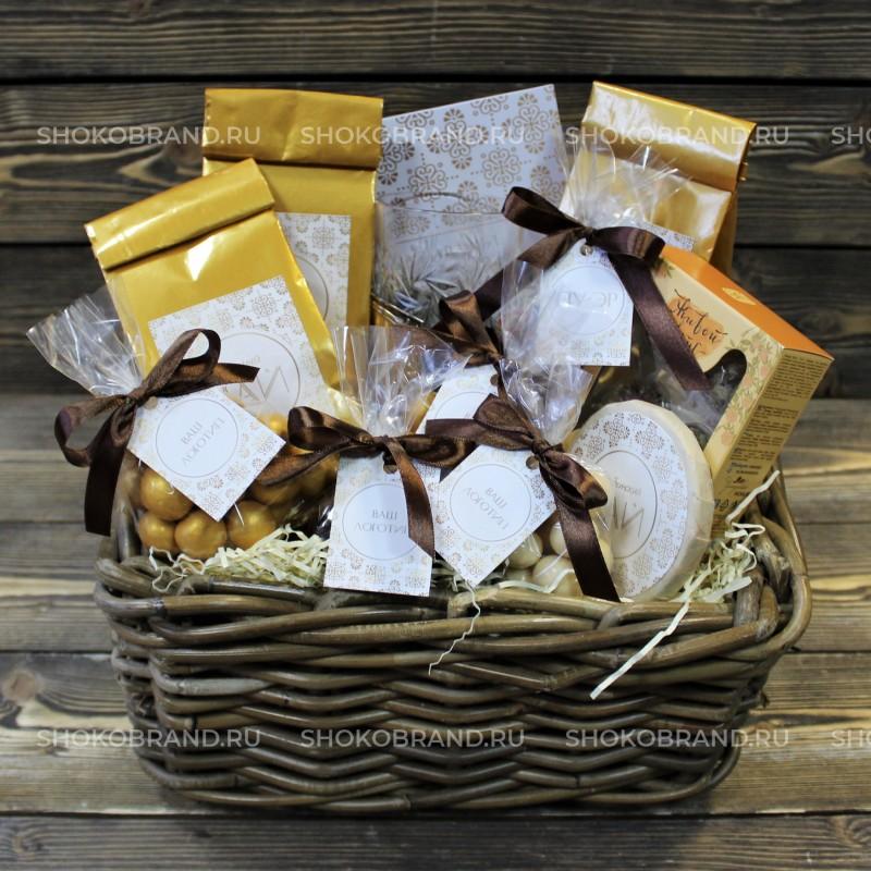 Корпоративный подарок Чайная корзина