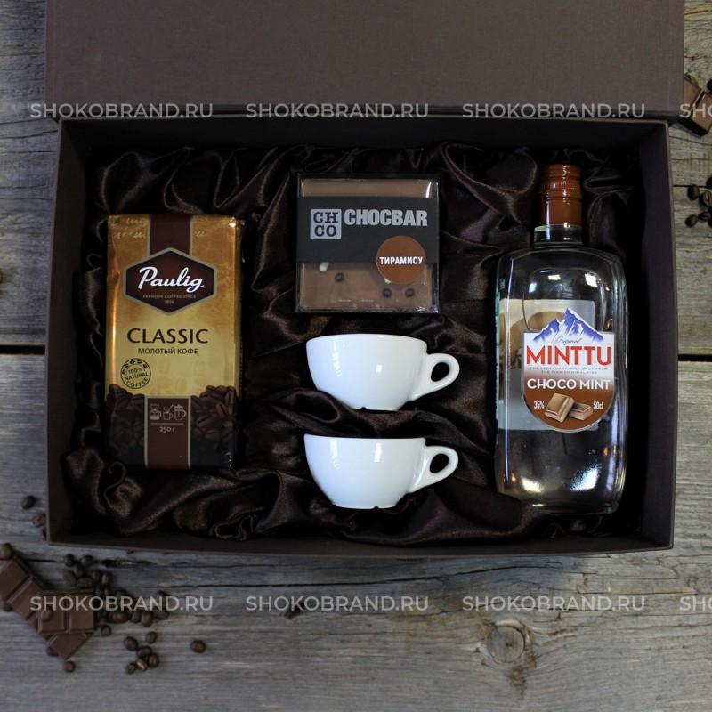 Корпоративный подарок Кофе и ликер