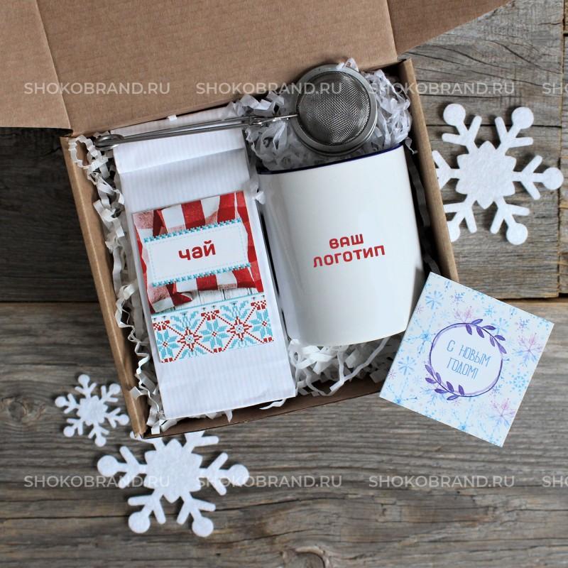 Корпоративный подарок Морозные снежинки