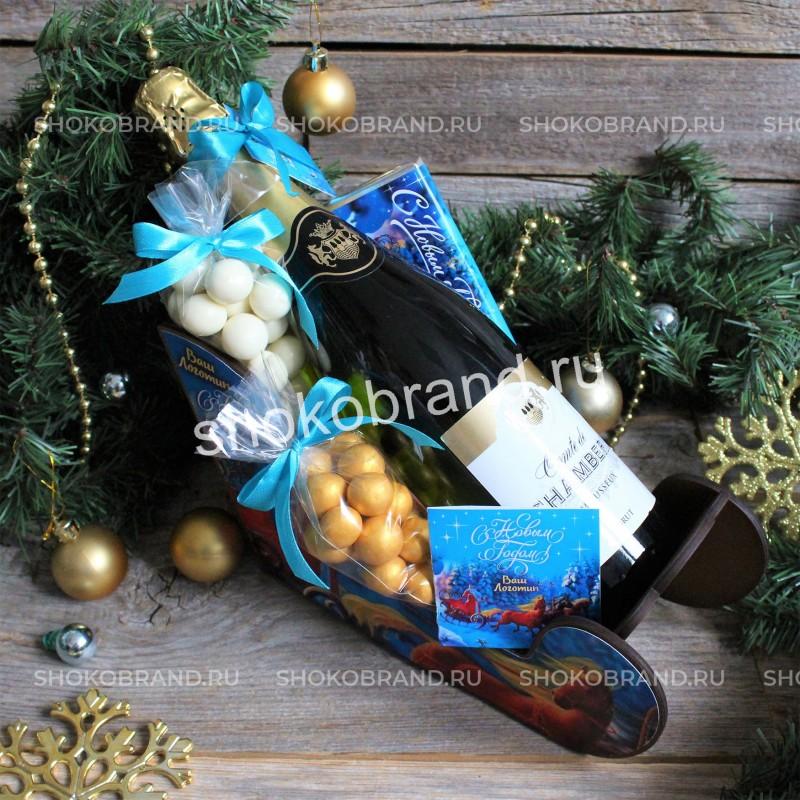 Корпоративный подарок Дед Мороз спешит