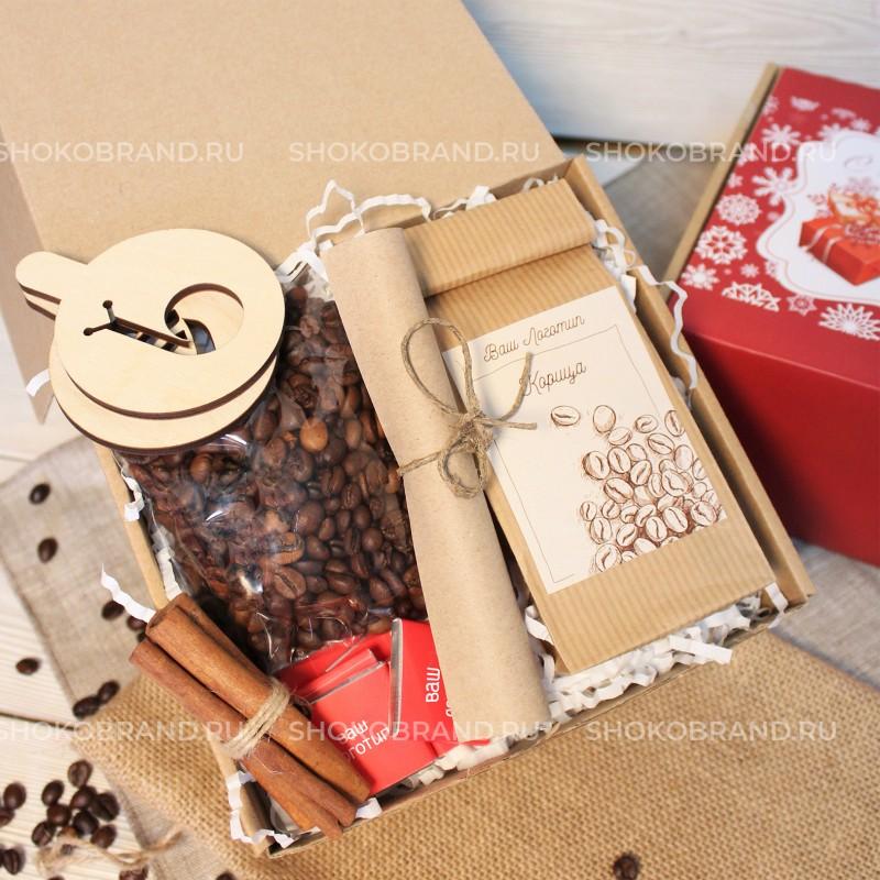 Корпоративный подарок Кофейные узоры