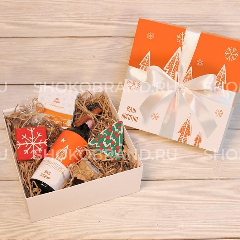 Корпоративный подарок Глинтвейн и печенье