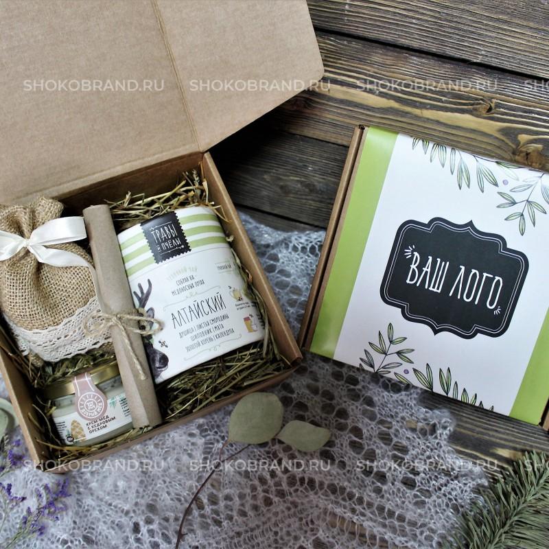 Корпоративный подарок Травы и мед