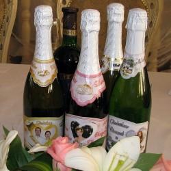 Фото шампанское на свадьбу