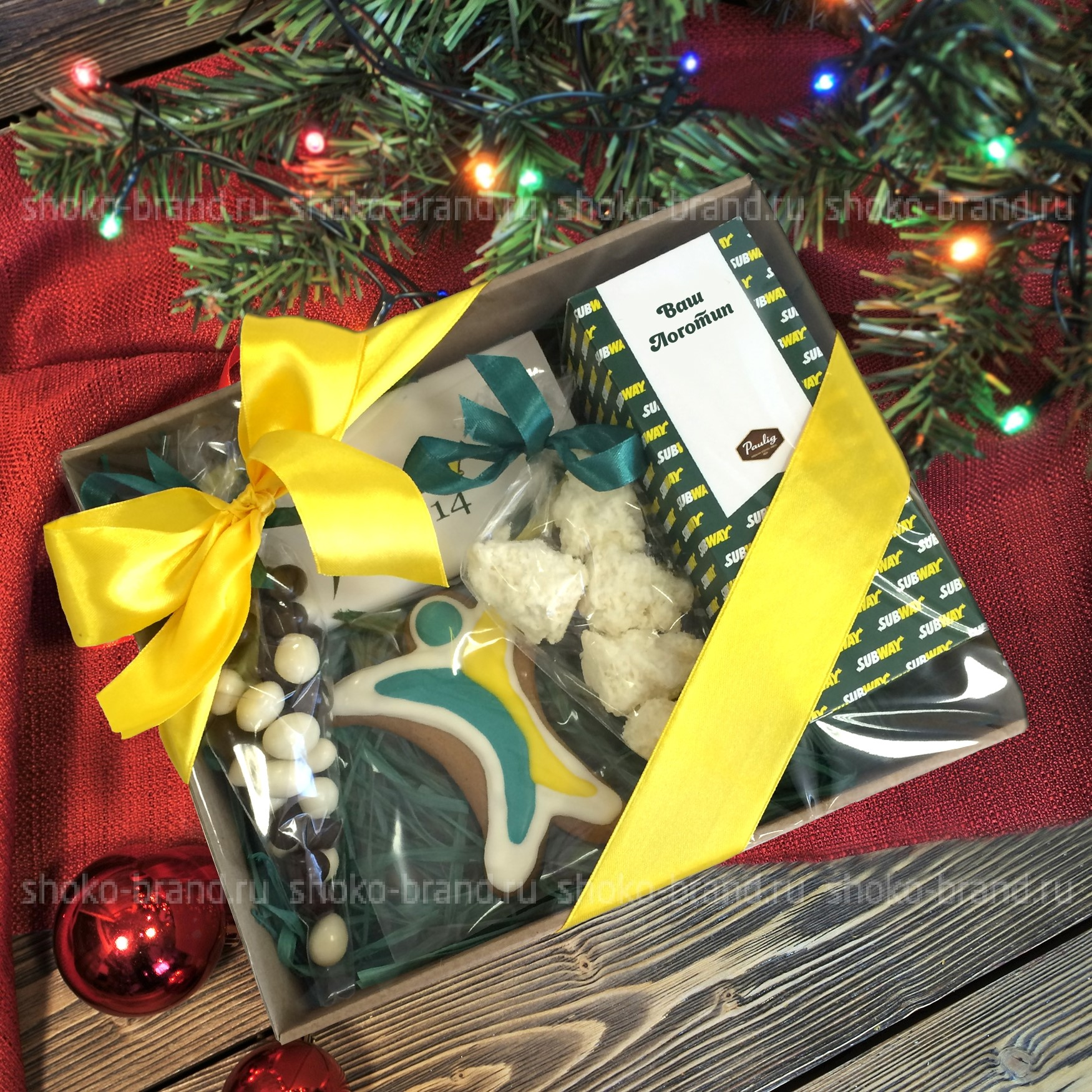 Новогодние подарки для вип клиентов 43