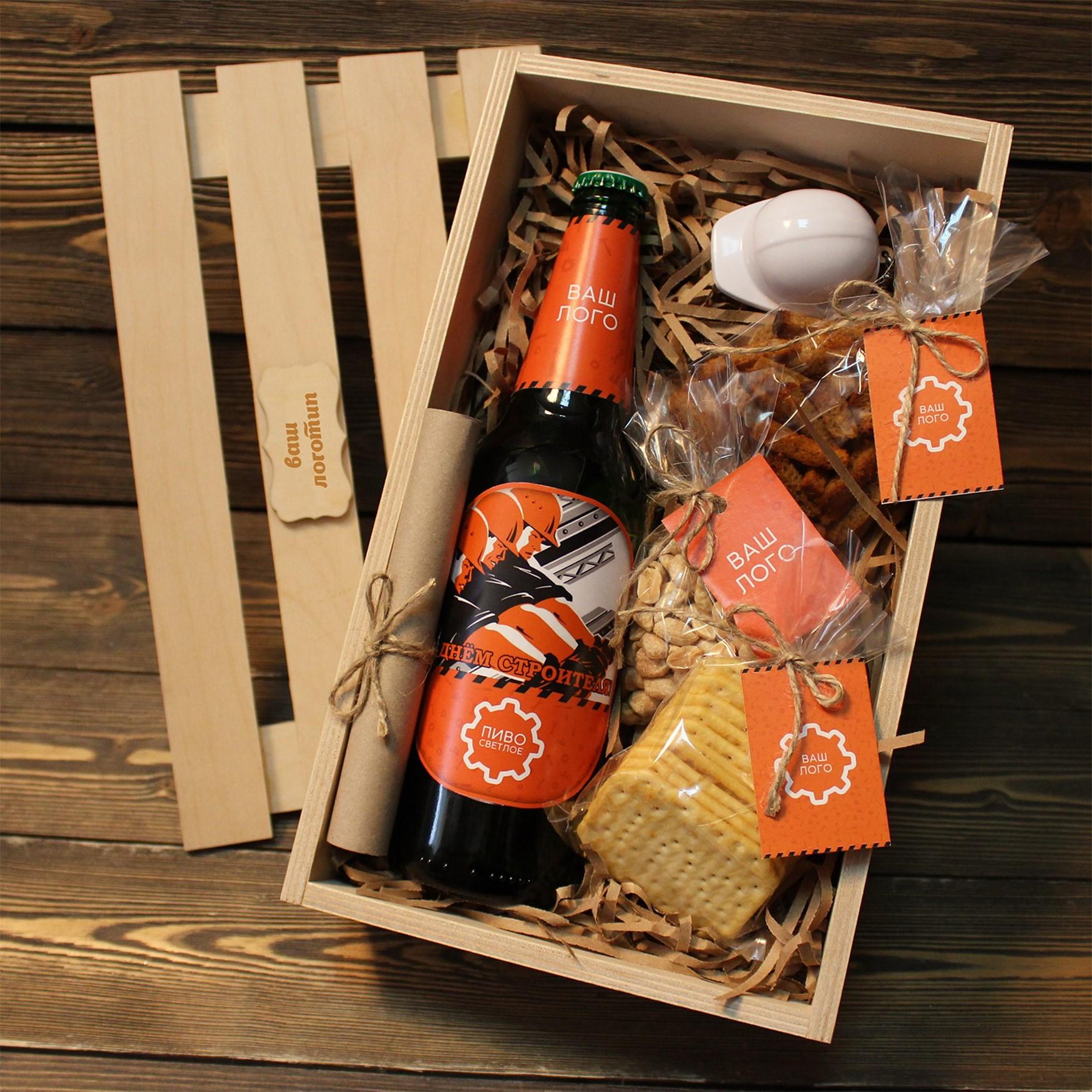 Упаковка пива для подарка 22